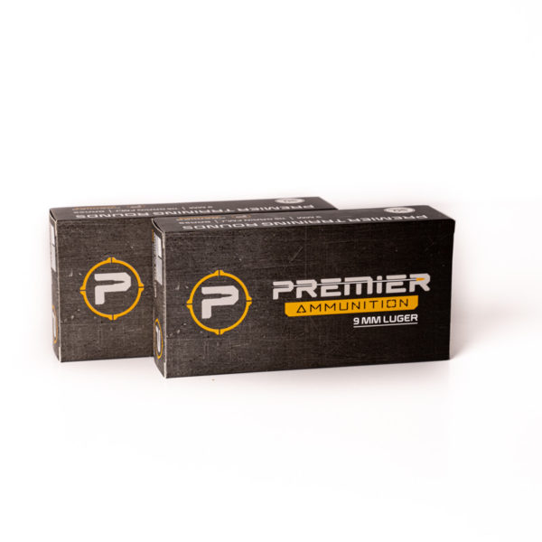 Premier ammo 2 9mm ammo boxes