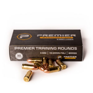 Premier Ammo Box with 9mm Rounds